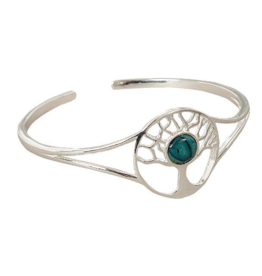 HEATHERGEMS HEATHERGEM TREE OF LIFE BANGLE