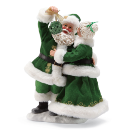 "SANTAS ""LOVE LOYALTY FRIENDSHIP"" SANTA & MRS. CLAUS"