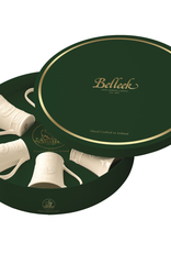 KITCHEN & ACCESSORIES SET OF SIX BELLEEK CLADDAGH MUGS