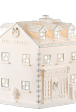 RELIGIOUS BELLEEK LIVING POST OFFICE LUMINAIRE