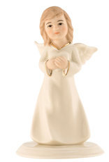 ANGELS BELLEEK LIVING MINI ANGEL of LOVE