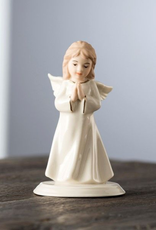 ANGELS BELLEEK LIVING MINI ANGEL of PRAYER
