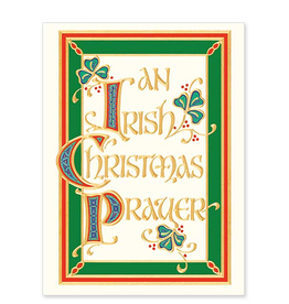 "CARDS ""AN IRISH CHRISTMAS PRAYER"" CHRISTMAS CARDS"