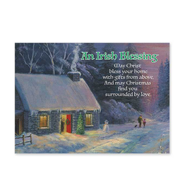 "CARDS ""AN IRISH BLESSING"" CHRISTMAS CARDS"