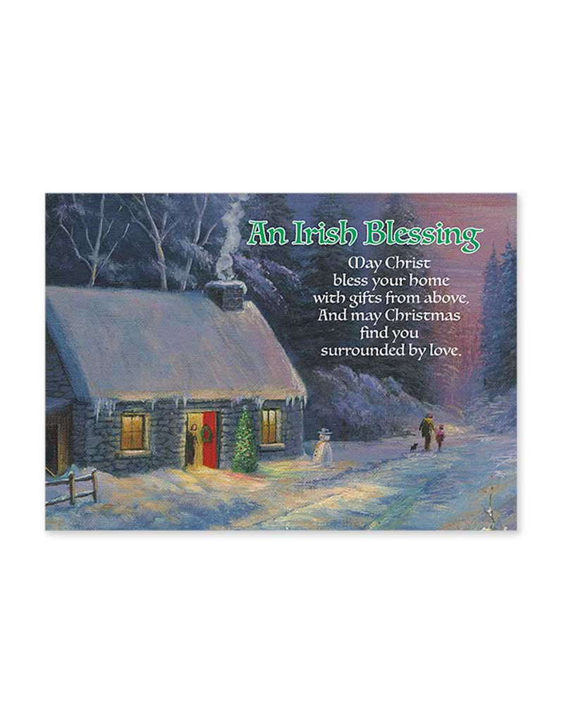 """CARDS """"AN IRISH BLESSING"""" CHRISTMAS CARDS"""