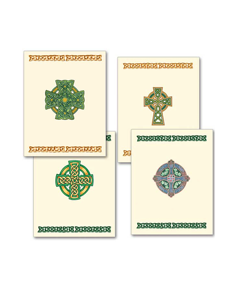 CARDS DELUXE IRISH NOTECARDS - 12pack