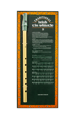 TRADITIONAL IRISH GIFTS TIN WHISTLE on CARD