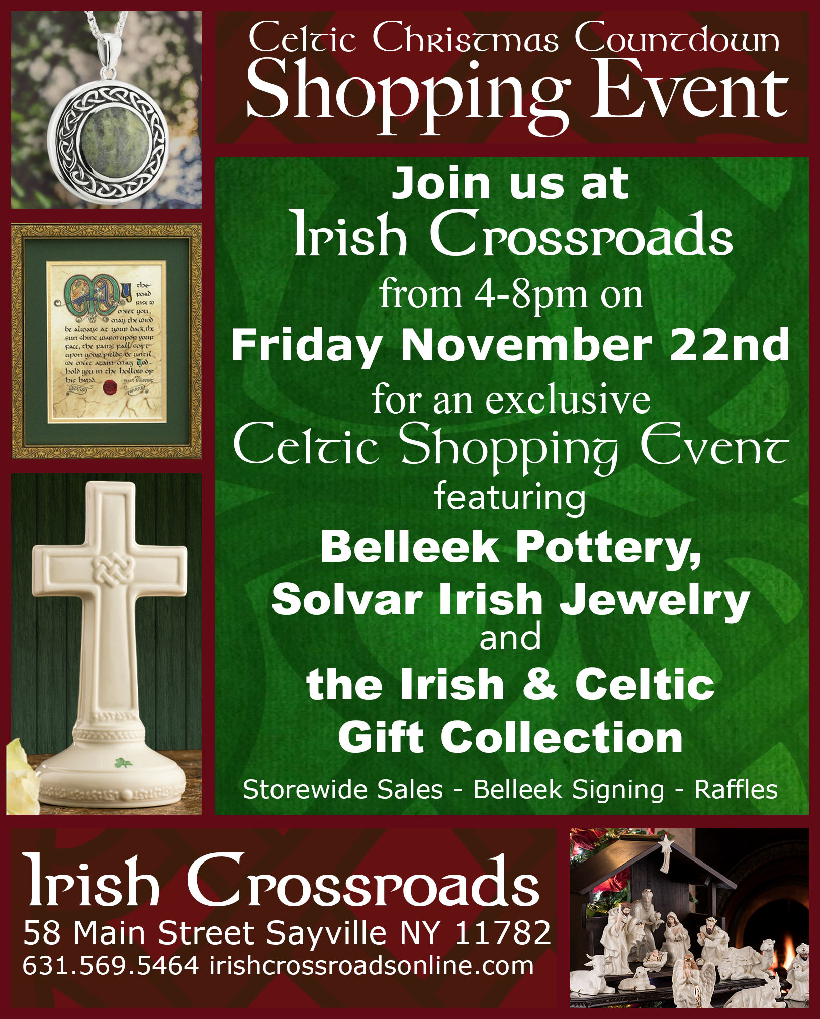 Celtic Christmas Countdown Shopping Event 2019