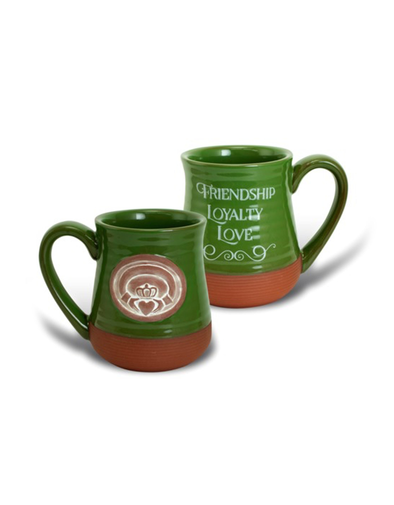 KITCHEN & ACCESSORIES CLADDAGH POTTERY MUG