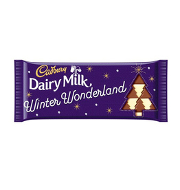 FOODS CADBURY WINTER WONDERLAND CHOCOLATE BAR (100g)