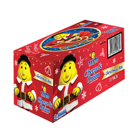 MISC FOODS TAYTOS CHEESE AND ONION CHRISTMAS BOX - (18x25g)