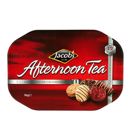 COOKIES & BISCUITS JACOBS AFTERNOON TEA COOKIE TIN (1kg)