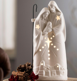 HOLIDAY BELLEEK LIVING NATIVITY GROUP VOTIVE