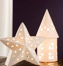 CANDLES & LIGHTING BELLEEK LIVING LUMINAIRES STAR LAMP
