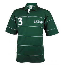 SPORTSWEAR CROKER IRISH GREEN PIPING POLO SHIRT