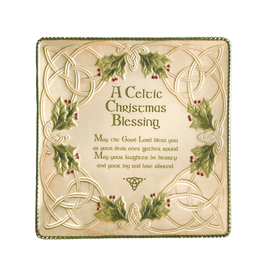 HOLIDAY CELTIC CHRISTMAS SQUARE PLATTER