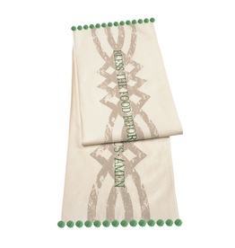 KITCHEN & ACCESSORIES BLESS THE FOOD CELTIC TABLE RUNNER