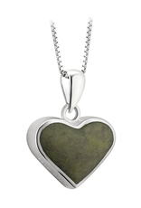 PENDANTS & NECKLACES SOLVAR STERLING CONTEMPORARY CONNEMARA HEART PENDANT