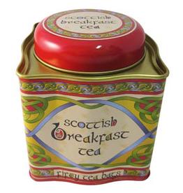 TEAS CELTIC WEAVE TEA TIN - SCOTTISH BREAKFAST