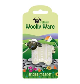 "KITCHEN & ACCESSORIES ""WOOLLY WARE"" SHEEP FRIDGE MAGNET"