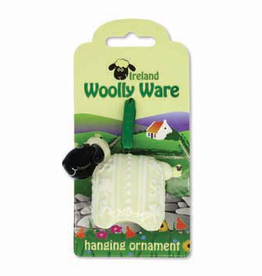 "DECOR ""WOOLLY WARE"" SHEEP HANGING ORNAMENT"