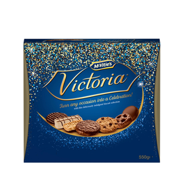 FOODS McVITIES VICTORIA CARTON (550g)