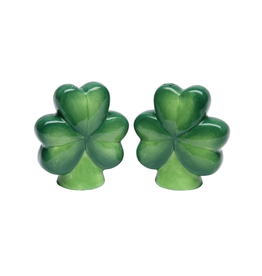 KITCHEN & ACCESSORIES SHAMROCK SALT & PEPPER SET