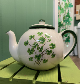 TEAPOTS, MUGS & ACCESSORIES CLASSIC XL SHAMROCK TEAPOT