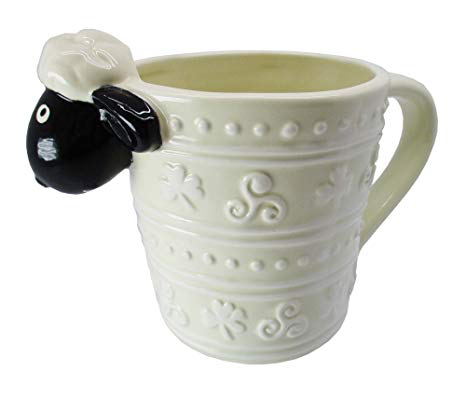 "KITCHEN & ACCESSORIES ""WOOLLY WARE"" SHEEP MUG"