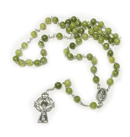 ROSARIES & JEWELRY CONNEMARA MARBLE ROSARY BEADS