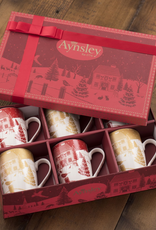 HOLIDAY AYNSLEY CHRISTMAS IN THE COUNTRY HAT BOX SET
