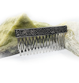 ACCESSORIES MULLINGAR PEWTER CELTIC KELLS HAIR COMB