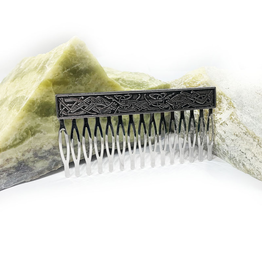 ACCESSORIES MULLINGAR PEWTER CELTIC HAIR COMB