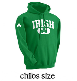 KIDS CLOTHES YOUTH IRISH GREEN HOODIE