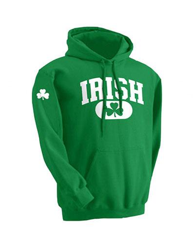 SWEATSHIRTS IRISH GREEN HOODIE