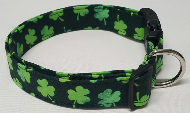 MISC PETS DOG COLLAR - Tuckers Shamrocks