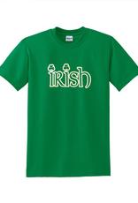 """SHIRTS KELLY GREEN """"IRISH"""" TSHIRT"""