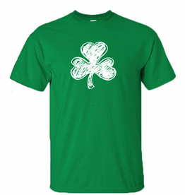 SHIRTS SHAMROCK CRAYON - ADULT SHIRT