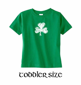 KIDS CLOTHES SHAMROCK CRAYON - TODDLER SHIRT