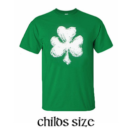 KIDS CLOTHES SHAMROCK CRAYON - YOUTH SHIRT