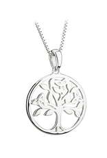 PENDANTS & NECKLACES ACARA SILVER TREE OF LIFE PENDANT