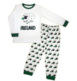 KIDS CLOTHES CHILDS IRELAND SHEEP PAJAMA SET