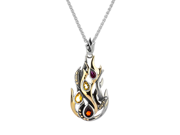PENDANTS & NECKLACES KEITH JACK STERLING ELEMENTS PENDANT - FIRE