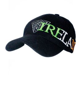 CAPS & HATS BLACK TRINITY TRI-COLOR BASEBALL CAP