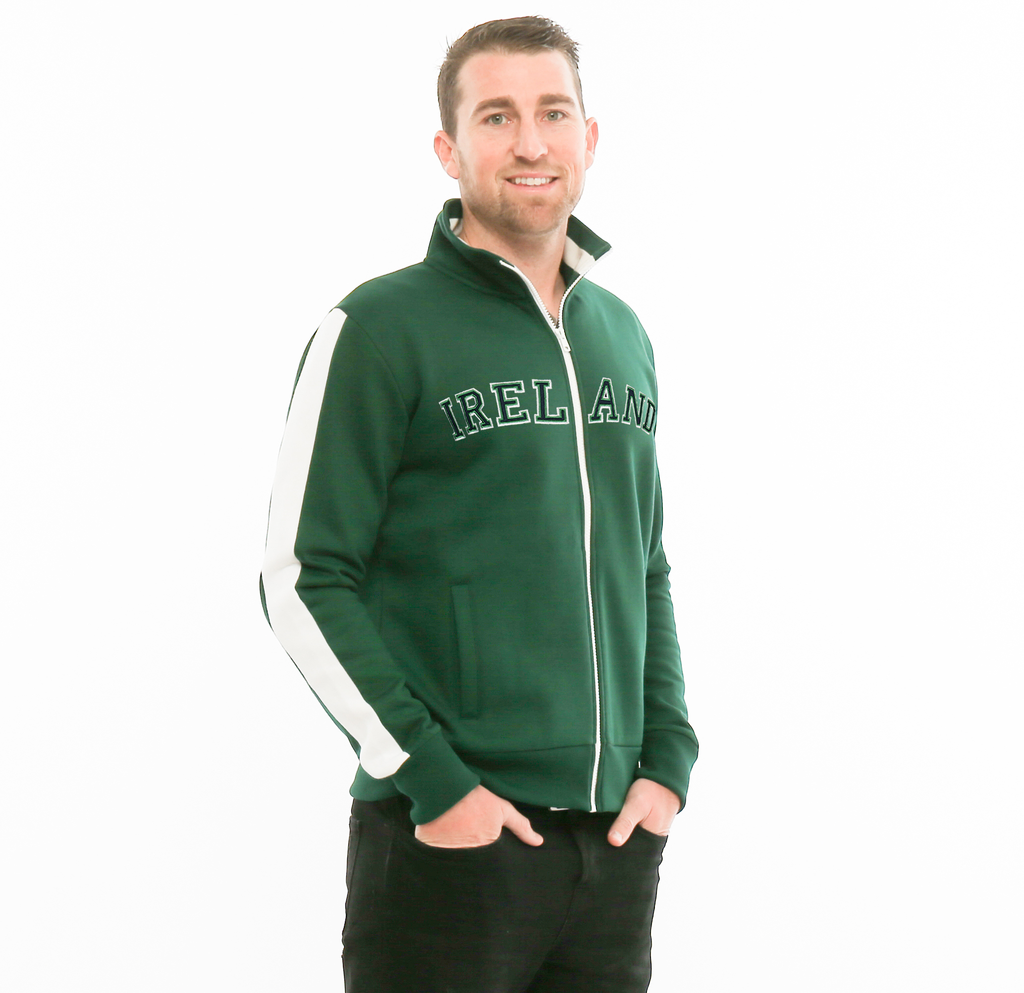 JACKETS IRELAND RETRO ZIP JACKET