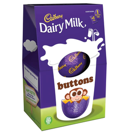CANDY BUTTONS EASTER EGG (128g)