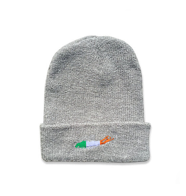 CAPS & HATS CARLETON LI IRISH BEANIE - GREY