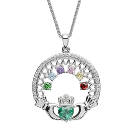 PENDANTS & NECKLACES CLADDAGH MOTHERS LOVE PENDANT