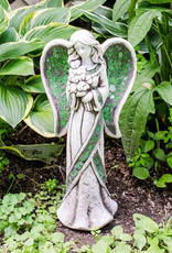 GARDEN MOSAIC WING IRISH GARDEN ANGEL