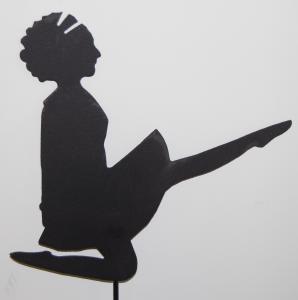 GARDEN IRISH DANCER GARDEN SILHOUETTE